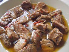Αγαπημενο φαγητο και η τηγανια, και ειδικα εκεινο το ζουμακι... μιαμ! Υλικά 1/2 κιλό τηγανιά χοιρινή 1 ποτήρι λευκό κρασί 2 πιπεριές πρ... Pork Recipes, Nutella, Health Fitness, Beef, Dinner, Food, Meat, Dining, Essen