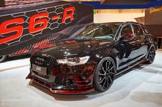 Darth Vader's Audi RS6-R by ABT Invades Essen 2014 with 730 HP [Live Photos] - autoevolution