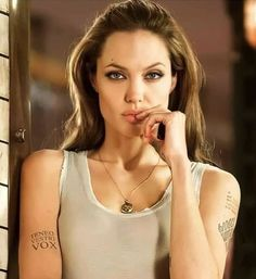 Angelina Jolie, Camisole Top, Hollywood, Celebs, Actresses, Female, Tank Tops, Sexy, Instagram Posts