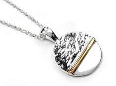 Silver Pendant - Horizon Sterling Silver Pendants, Plating, Chain, Gold, Necklaces, Yellow