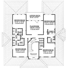 Grand Low Country Classic - 9149GU | Architectural Designs - House Plans