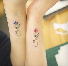 tatouage-poignet-tatouage-couple-tatouage-rose