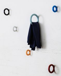 wooden hooks designed by Staffan Holm for HAY