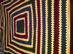 My first crochet afghan