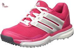 Adidas W Adipower Sport Boost 2-Chaussures de golf pour femme Multicolore Rosa / Blanco / Plata 38.6 - Chaussures adidas (*Partner-Link)