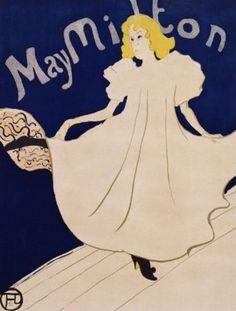 Poster for the American tour of May Milton, Henri de Toulouse-Lautrec, Van Gogh Museum, Amsterdam, View this artwork Henri De Toulouse Lautrec, Van Gogh Museum, Art Museum, Vincent Van Gogh, Poster Art, Kunst Poster, Art Posters, Belle Epoque, Art Nouveau