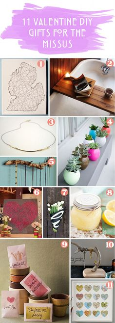Everyday Simple: 11 Valentine DIY Gifts | for the missus