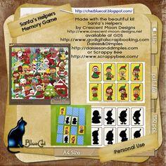 Memory Game | ♥ • ❁ • BlueCat et ses cartes • ❁ • ♥