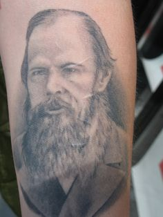 Dostoyevsky tattoo