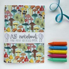 A5 Notebook - Mushrooms
