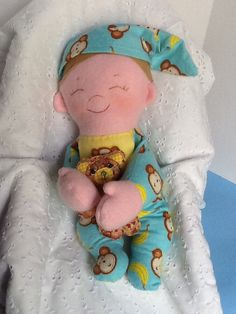 Baby Brother PDF Cloth Doll Pattern Great by PeekabooPorch, $9.00