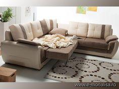 Canapea de Colt Bolivya | Coltare Extensibile moderne cu Lada
