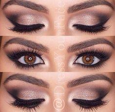 Eye make up Makeup Is Life, Makeup Goals, Love Makeup, Makeup Inspo, Makeup Inspiration, Makeup Tips, Beauty Makeup, Makeup Ideas, Wedding Inspiration