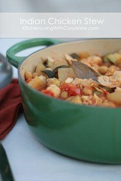 Slow Cooker Chicken Stew by Coryanne Ettiene.