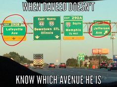 When Daveed doesn't know which avenue he is