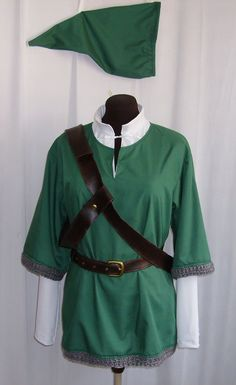 Link Skyward Sword Cosplay, hey this would go great with the master sword and hylian shield I've been saving for(hint hint)