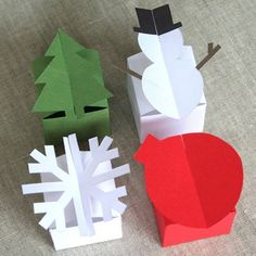 paper boxes templates - Google Search