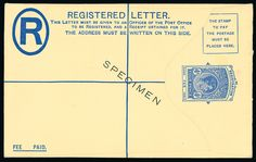 Falkland Islands: Postal Stationery: 1893-1902 1d. postcard, 1899 1d. envelope, 1913 1d. envelope, 1d. letter card (faint tone spots), 2d. registered envelope (without ''LTD'', some tone spots), 1938 1d. envelope, 4d. registered envelope size G, each overprinted ''SPECIMEN'', mainly good to fine. (7) SH P3sp, E1sp, E2asp, L1sp, R1sp, E4sp, R2asp.