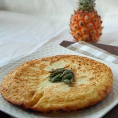 Jumbo Potato Pancake with Sage for Hanukkah