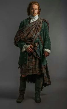 Fraser tartan Jamie dress for the wedding