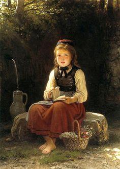 Resultado de imagen para pintura alemana siglo xix