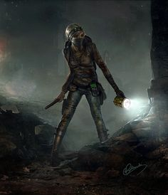 Fantasy Artwork by Grzegorz Rutkowski. Known as in dA, Grzegorz is a fantasy artist based in Poland. He has produced some gorgeous art featuring Post Apocalypse, Apocalypse Survivor, Fantasy Artwork, Dark Fantasy Art, Dark Art, Cg Artwork, Post Apocalyptic Art, Post Apocalyptic Fashion, Arte Zombie