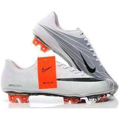 online retailer 19673 19c0d Sale Nike Mercurial Vapor VI Superfly II FG Football Shoes White Black