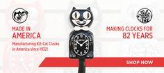 Kit-Cat Clocks