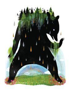 Image of Bear of Burden - 11 x 14 Archival Inkjet (Giclée) Print