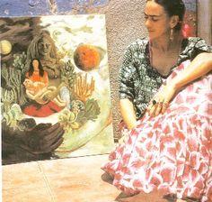 Love Embrace of the Universe, Autorretrato en la Frontera Entre El Abrazo de Amor de el Universo, Frida Kahlo, C0580
