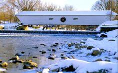 Elizabethton, Tennessee. Uploaded by tdot.state.tn.us.  http://www.greatamericanthings.net/americana/americana-covered-bridges/