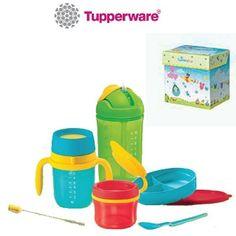 Tupperware Twinkle Tup Set  RM89  Postal Charges  RM10(WM) / RM18(EM)  WhatsApp @ 013 677 5528 to order  PRODUCT DETAILS  Comprises : - 1 x Twinkle Snack Cup 150ml - 1 x Twinkle Training Cup 250ml - 1 x Twinkle Straw Tumbler 350ml - 1 x Twinkle Straw Brush - 1 x Twinkle Divided Dish - 1 x Twinkle Hang-On Spoon - 1 x Twinkle Tup Leaflet - Gift Box  #tupperware #tupperwarebub2tots #babybottle #weaning #babyfoodcontainer #babyplate #babybowl #babyfeedingset #babytumbler #kidstumbler #lunchbox…