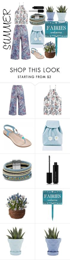 """""""always summer"""" by nadialestari99 ❤ liked on Polyvore featuring SUNO New York, Sugarbaby, Design Lab, Marc Jacobs and Chive"""