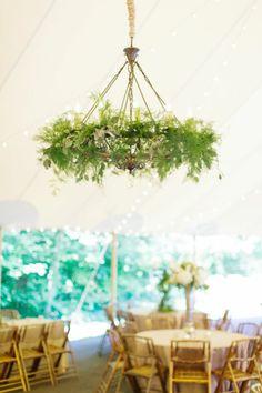 dekoideen gartenparty blumen gartendeko leuchter dekorieren pflanzen