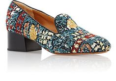Chloé Tapestry-Inspired Loafers - Loafers & Oxfords - 504626982