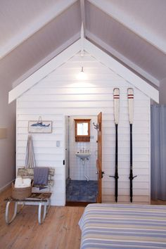 hut interior | Beach hut interior, Beach huts and Norfolk