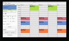 Free Online Weekly Schedule Maker Inspirational Free College Schedule Maker Builder Link In Description School Schedule Maker, Class Schedule College, Class Schedule Template, Study Schedule, College Classes, Planner Template, Weekly Schedule, High School Transcript, Block Scheduling