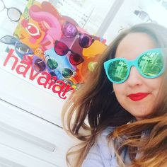 Irresistibili e coloratissimi... We love #havaianas  #sunglasses #picoftheday #instagram #havaianas #instagood #colors #lifestyle #occhiali #occhialidasole #fashion #moda #estate2017