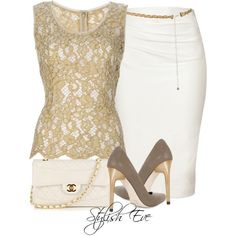 Stylish Eve Outfits 2013: Formal Wear with Pencil Skirts -- loved almost all of these!! -sp