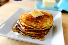 I just have to make Edna Mae's Sour Cream Pancakes for dinner soon. Who doesn't love breakfast for dinner? :)