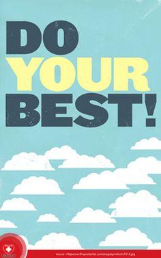 Hiduplah seperti ini hari terakhirmu dan lakukan pekerjaanmu seperti pertama kamu melakukannya. RT dulu ya :)