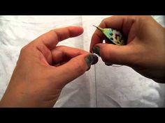 ▶ Tatting - The Split Chain (Traditional Tatting) - YouTube