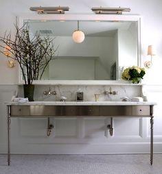 Get the Look: Double Bathroom Sink Vanities