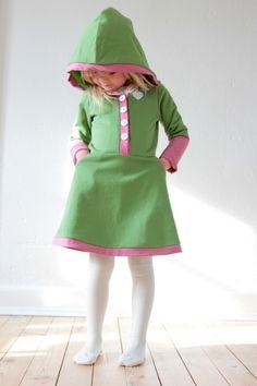 LaRaLiL  Syvejledning til Lara-kjolen met patroon uit ottobre Baba Varrás,  Diy Ruhák 172375c85e