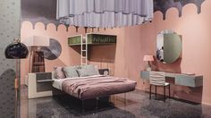 """Furniture brand Lago has worked with eight prominent Italian women to create a series of rooms in """"an ode to women's kindness""""."""