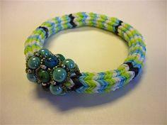 Making rubber band jewelry w/o a Rainbow Loom, Bead & Button #rainbowloom