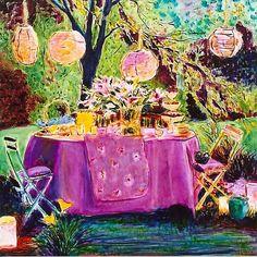 Twilight Dining I, 3'x3'.jpg (639×639)