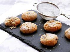 עוגיות טחינה ושוקולד צ`יפס