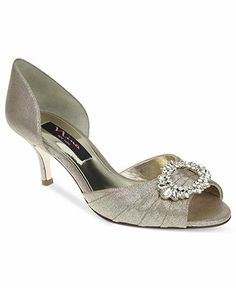 Nina Shoes, Crystah Evening Pumps - All Women's Shoes - Shoes - Macy's