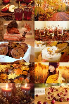 """""""The best of autumn photography food girl candles autumn leaves. Autumn Day, Autumn Leaves, Fall Winter, Hello Autumn, Autumn Aesthetic, Fall Candles, Autumn Photography, Photography Collage, Beauty Photography"""